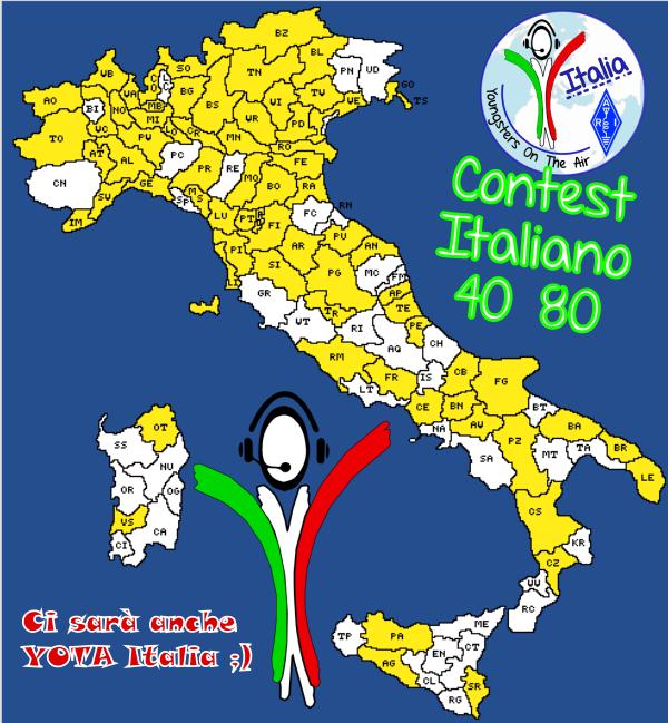 Contest Italiano 40-80 – YOTA powered